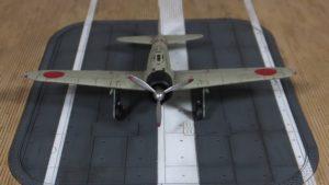 1/144 零戦21型(宮部久蔵機)&翔鶴型飛行甲板
