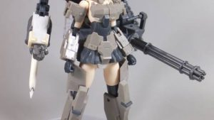 FA:G 轟雷 サブアーム用背部フレーム製作